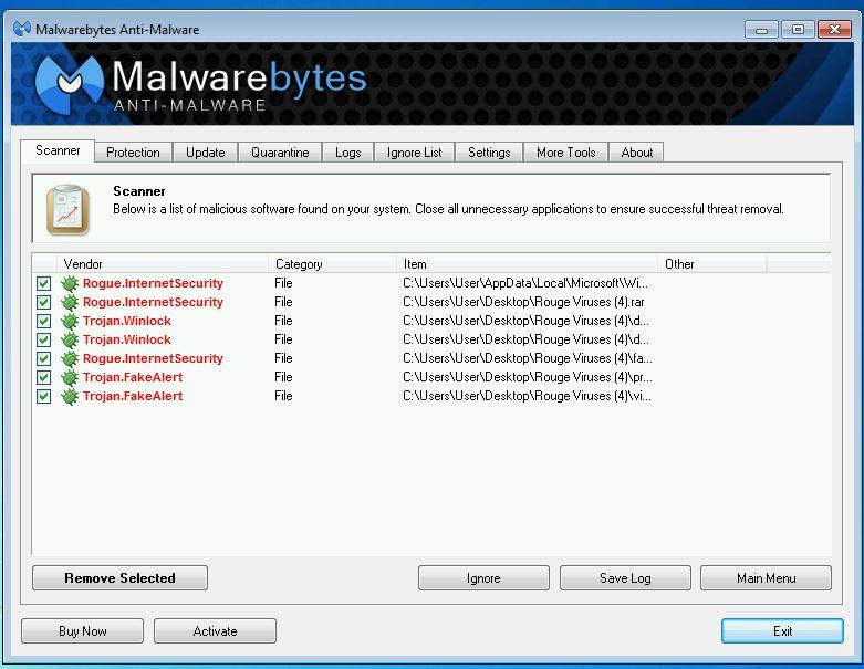 Malwarebytes found Viruses | techspeeder