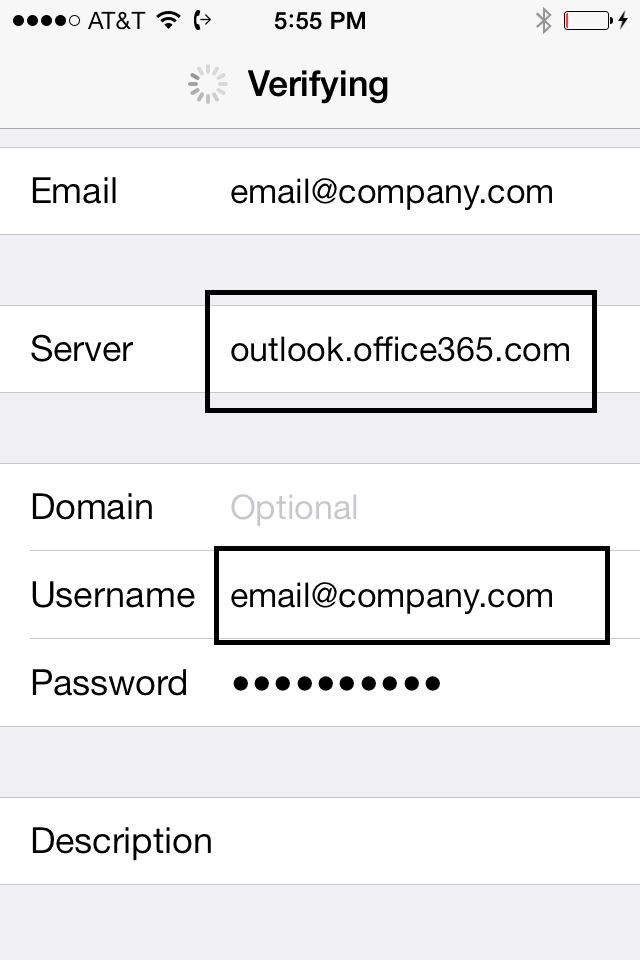 Server settings techspeeder - Office 365 server settings for outlook 2013 ...