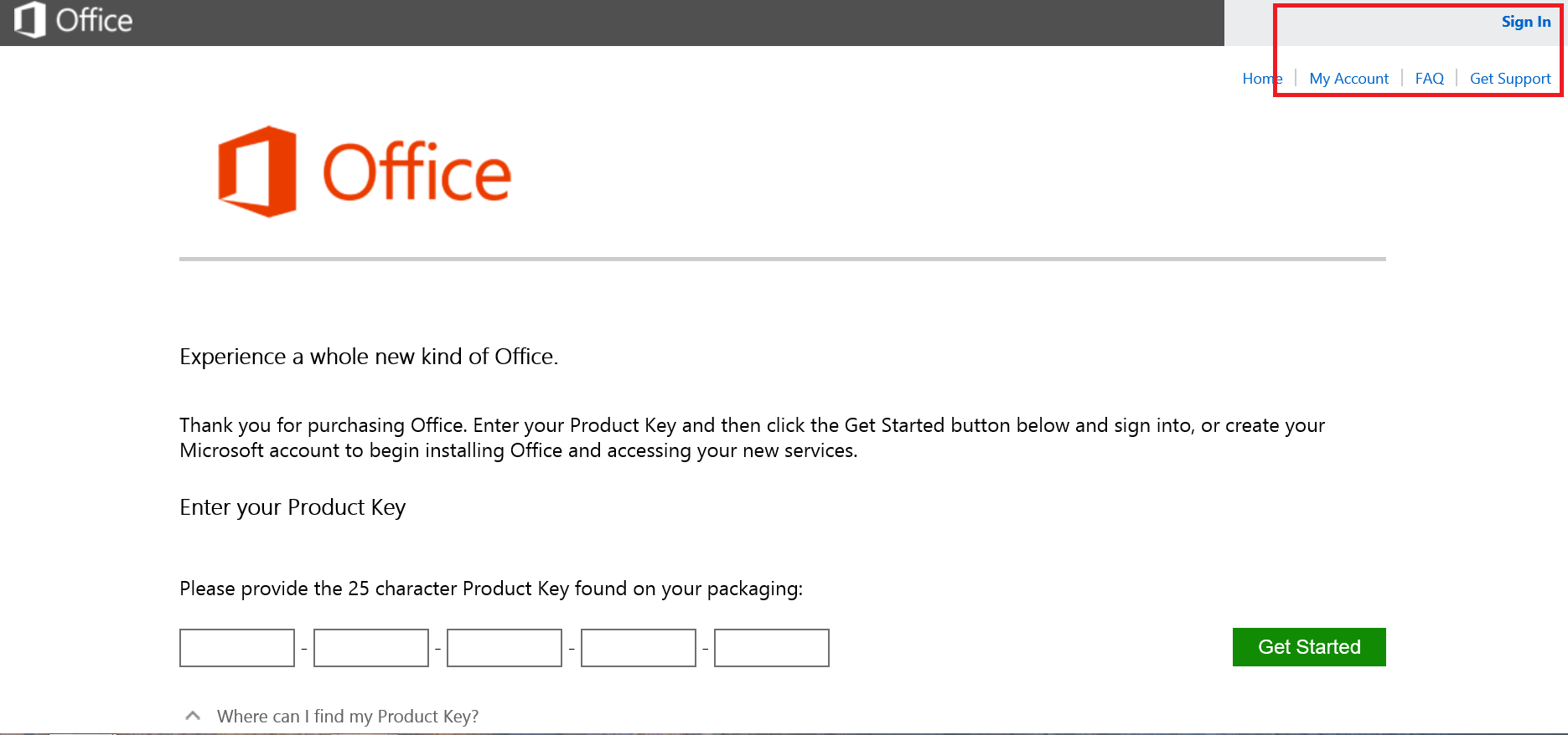 and install office 2013 with product key