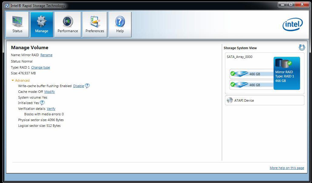 Downloads für Intel® Rapid-Storage-Technik …