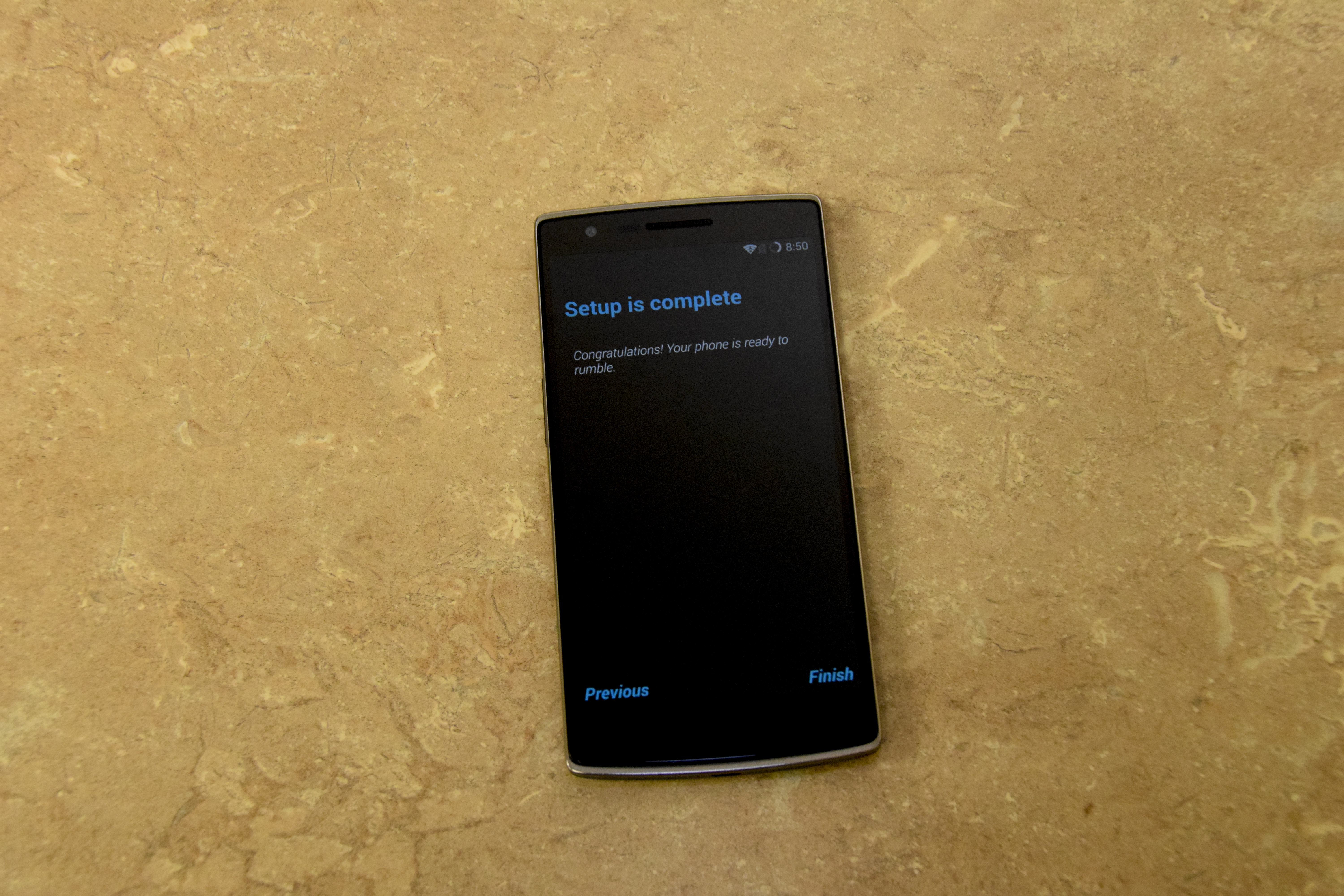OnePlus One – Ready to Roll!